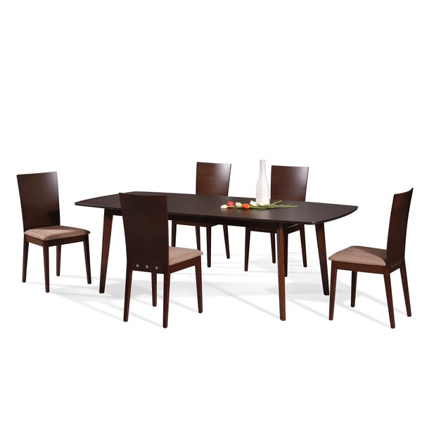 Mccullum 5 Piece Dining Set by Brayden Studio