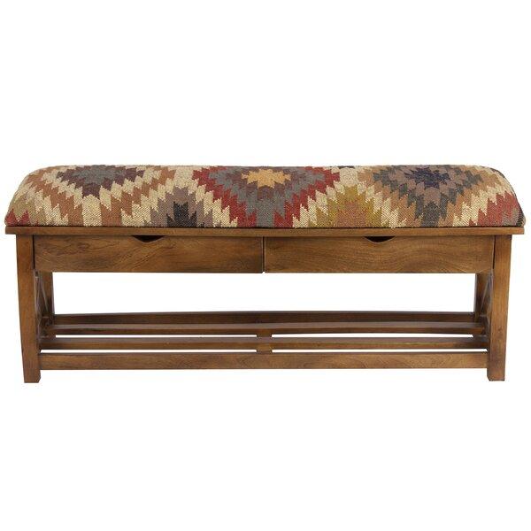 Grunwald Solid Wood Drawer Storage Bench