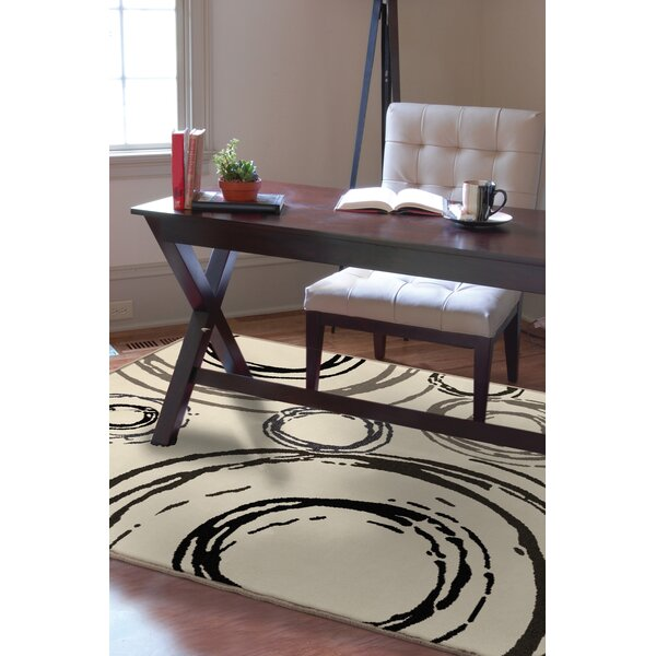Melissa Cream Area Rug by Threadbind