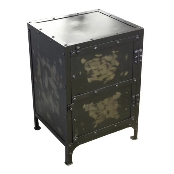 Erica 1 Drawer Nightstand by 17 Stories