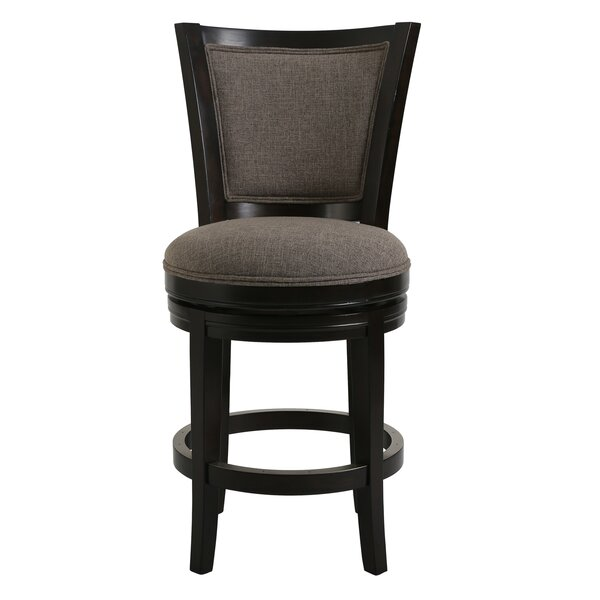 Jahnke Swivel Bar Stool By Winston Porter