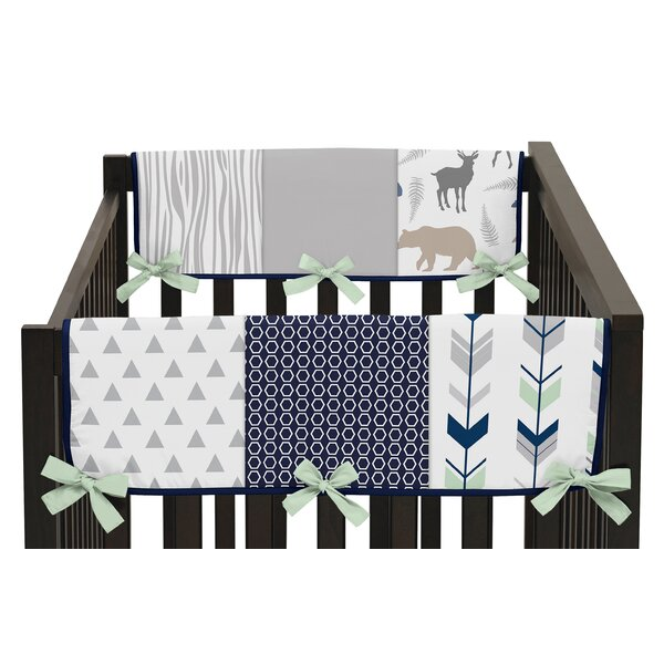 Woodsy Side Crib Rail Guard Cover (Set of 2) by Sweet Jojo Designs
