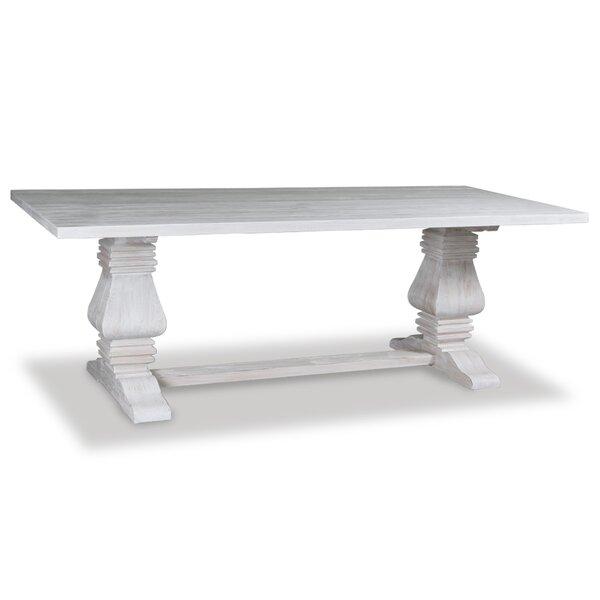 One Allium Way Gendreau Hardwood Dining Table U0026 Reviews | Wayfair