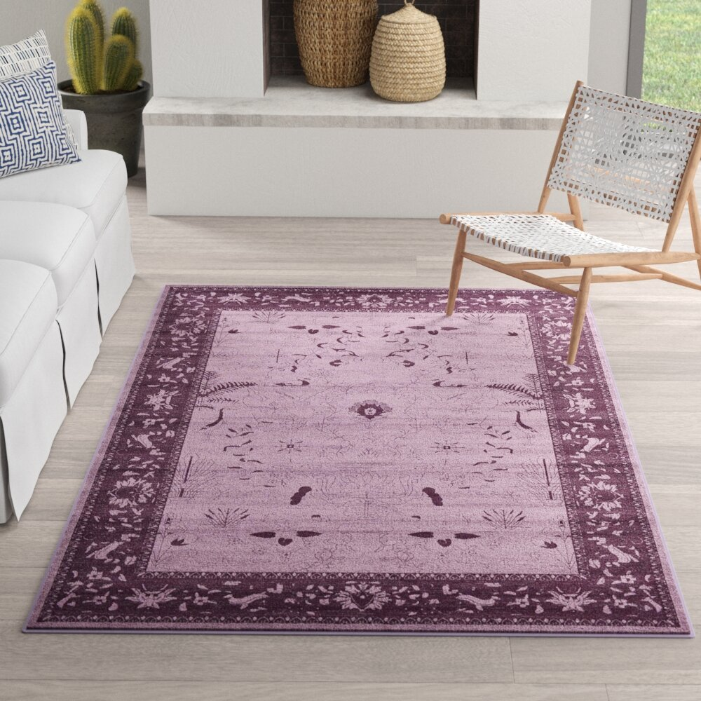 Mistana Shailene Oriental Dark Purple