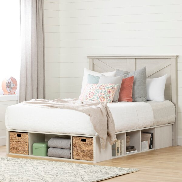 Avilla Queen Storage Platform Bed by South Shore