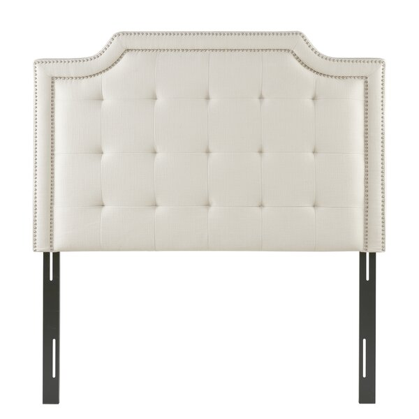 Britney Upholstered Panel Headboard by Charlton Home