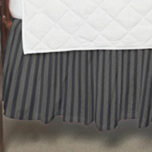 Compare & Buy Striped Fabric Crib Dust Ruffle ByPatch Magic