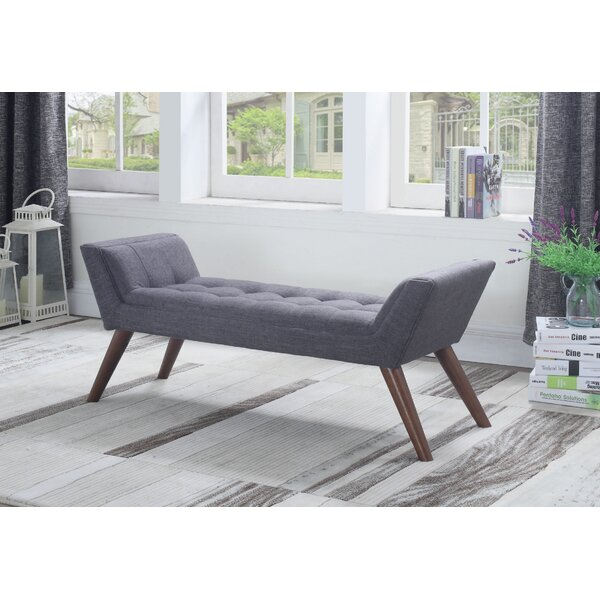 Britney Upholstered Bench by Brayden Studio Brayden Studio