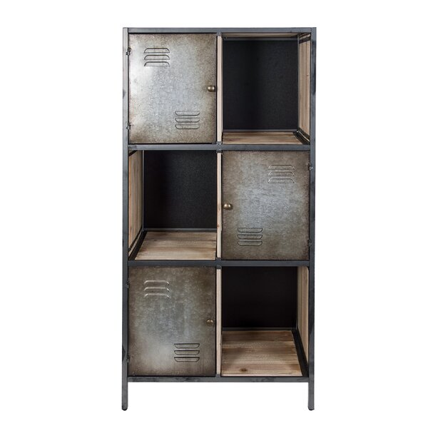 Meaux Rustic Locker Cube Bookcase By 17 Stories