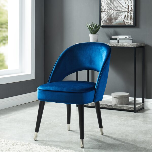 Elva Upholstered Dining Chair (Set of 2) by Orren Ellis