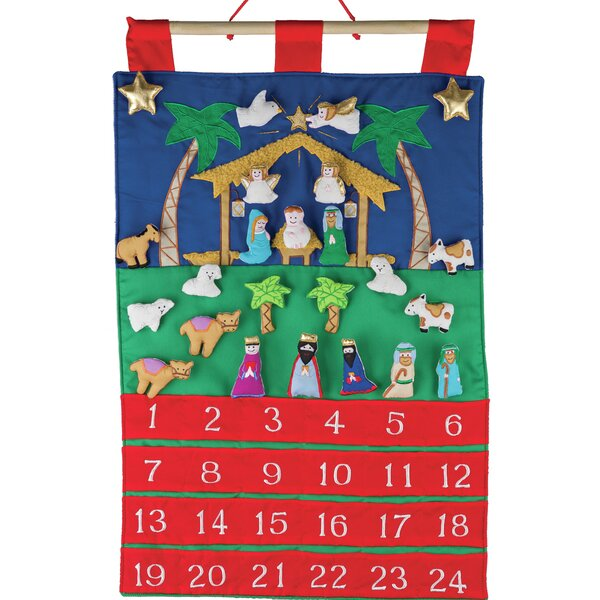 Nativity Fabric Advent Calendar by The Holiday Aisle