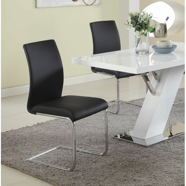 Souhail Upholstered Side Chair (Set of 4) by Orren Ellis