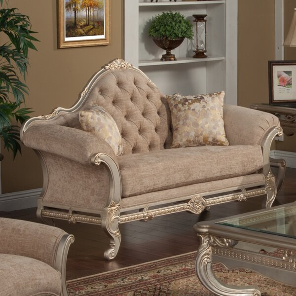 Valuable Quality Oak Hill Loveseat by Astoria Grand by Astoria Grand