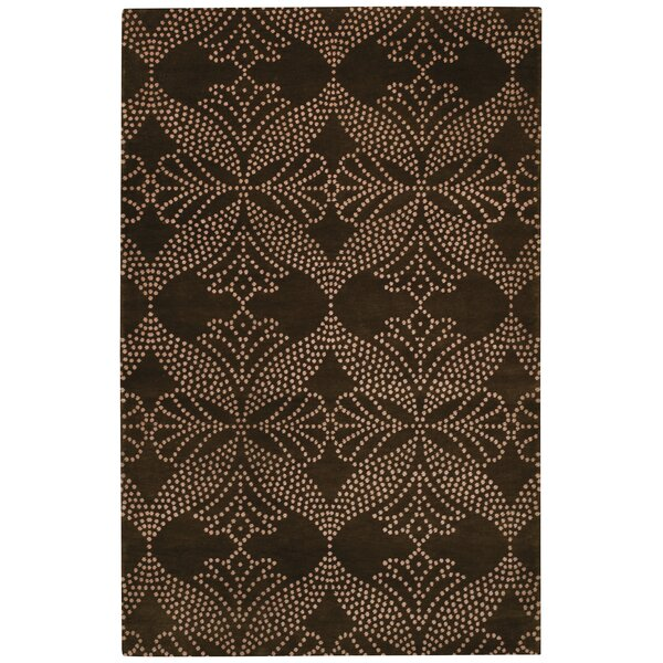 Picturesque Grace Cocoa Trellis  Area Rug by Capel Rugs