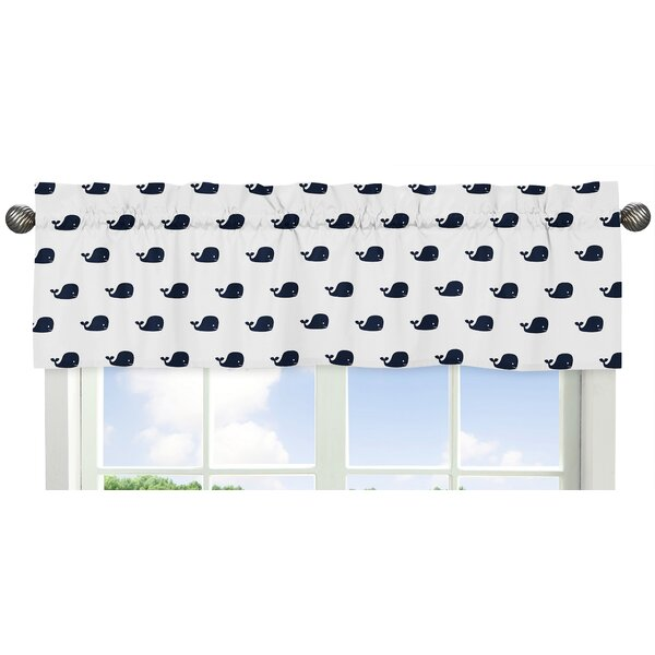 Whale 54 Window Valance by Sweet Jojo Designs