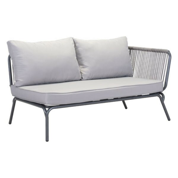 Lando Right Facing Loveseat by Bungalow Rose Bungalow Rose