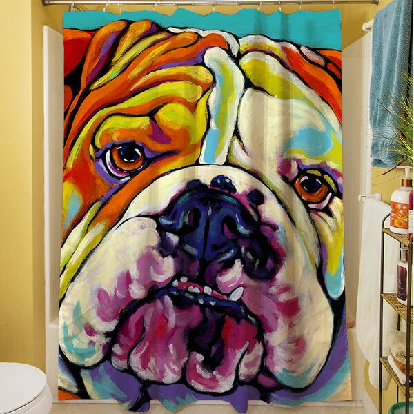 Maggie Shower Curtain by Manual Woodworkers & Weavers