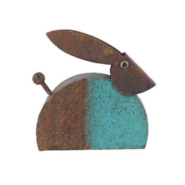 Steves Eclectic Rabbit Metal Figurine by Winston Porter