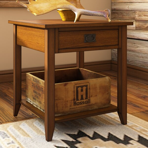 Dillwyn End Table With Storage By Bungalow Rose
