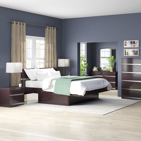 Emely Platform 4 Piece Bedroom Set by Orren Ellis