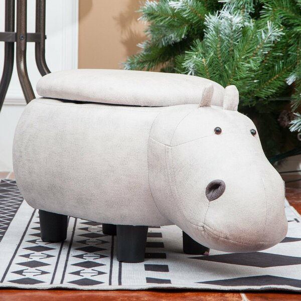 Renninger Hippo Storage Ottoman by World Menagerie
