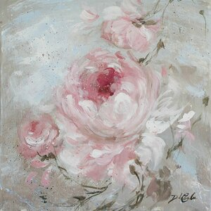 'Blush II' Painting Print on Wrapped Canvas by Lar