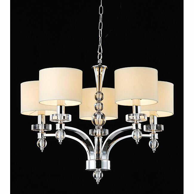 Master bedroom chandelier wayfair 5 light shaded chandelier mozeypictures Choice Image