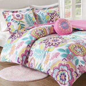 Hazlett Floral Comforter Set