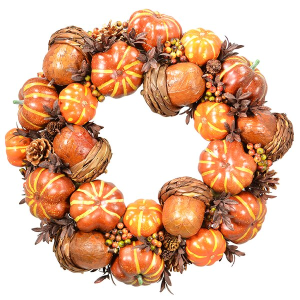 19 Pumpkin Wreath by Fantastic Craft