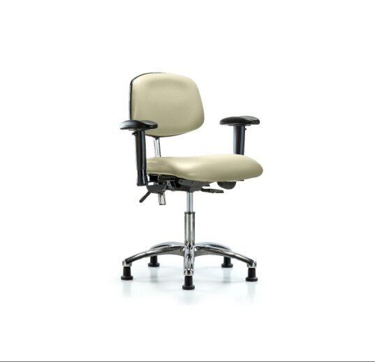 Desk Height Ergonomic Office Chair by Blue Ridge Ergonomics