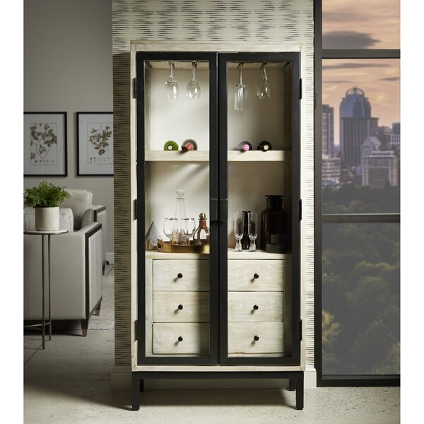 Taja 3 Drawer Modern Bar Cabinet by Foundry Select Foundry Select