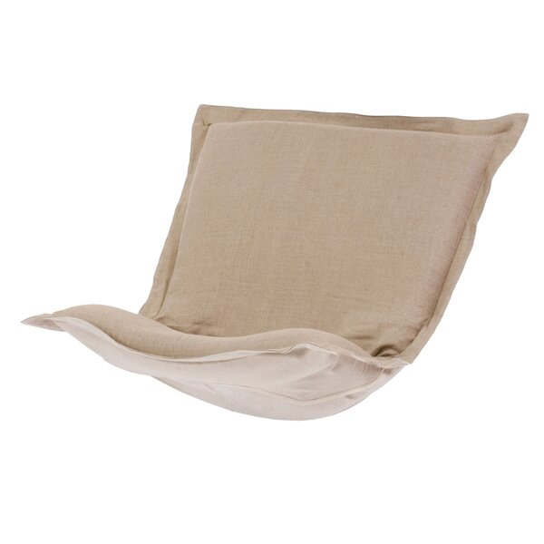 Azaria Prairie Linen Chair Cover by Red Barrel Studio