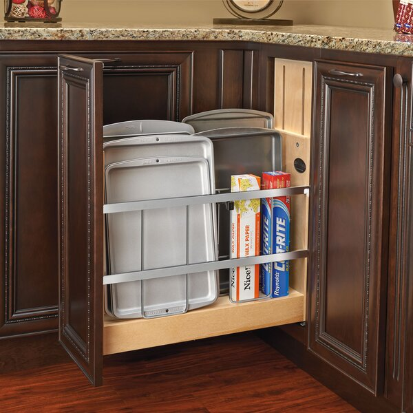 Tray Divider/Foil and Wrap Soft-Close Organizer by Rev-A-Shelf