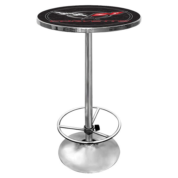 Corvette C5 Adjustable Pub Table by Trademark Global