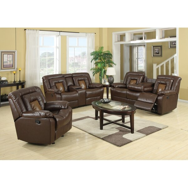Kmax Reclining 2 Piece Living Room Set by Roundhill Furniture