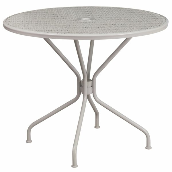 Alize Metal Dining Table by Charlton Home