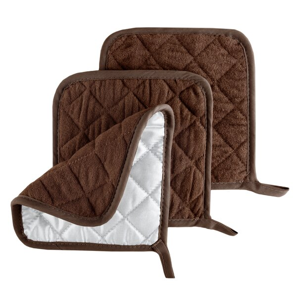 Quilted Pot Holder (Set of 3) by Lavish Home