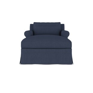 Autberry Linen Chaise Lounge