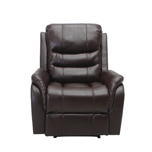Red Barrel Studio Ardis Leather Manual No Motion Recliner Image