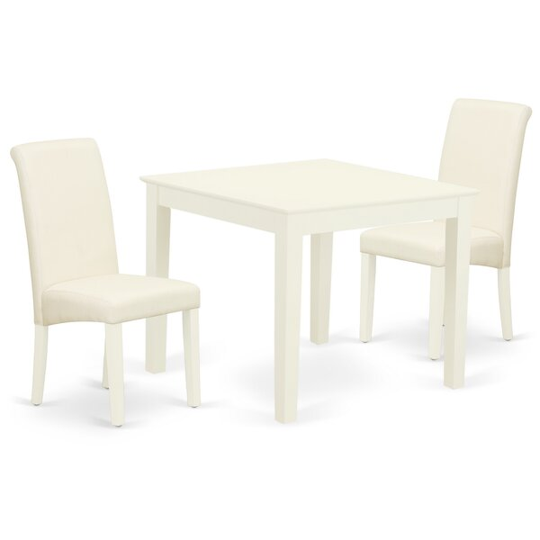 Dondale 3 Piece Solid Wood Dining Set by Winston Porter Winston Porter