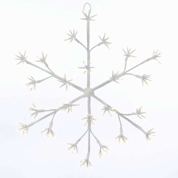 Cluster Snowflake String Lights by Kurt Adler