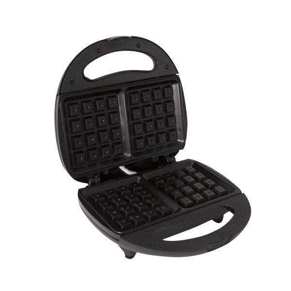 Electric Non-Stick Waffle Maker by MyCuisina