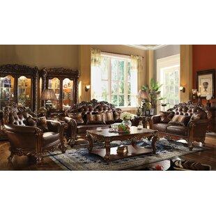 Esmeralda 3 Piece Coffee Table Set Astoria Grand