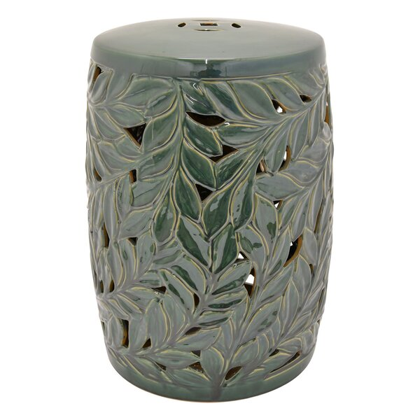 Luca Garden Stool by Bay Isle Home