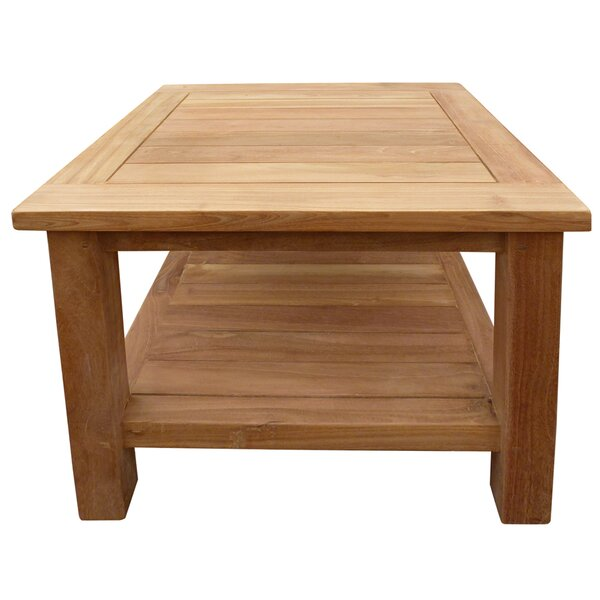 Cortright Teak Side Table by Highland Dunes