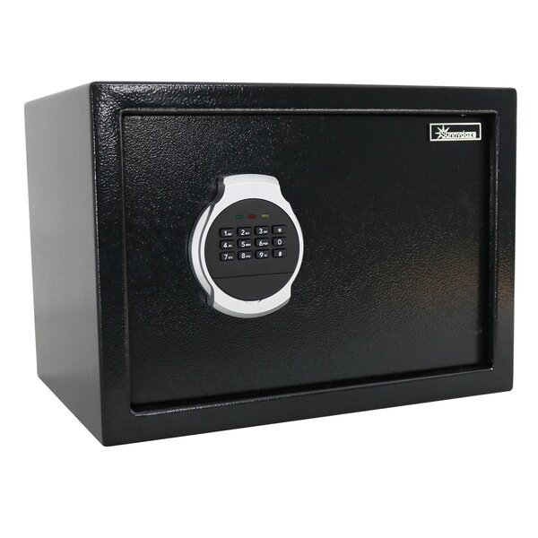 Balceta Digital Home Security Safe with Electronic/Key Lock by Symple Stuff