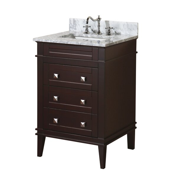 Eleanor 24 Single Bathroom Vanity Set by Kitchen Bath Collection