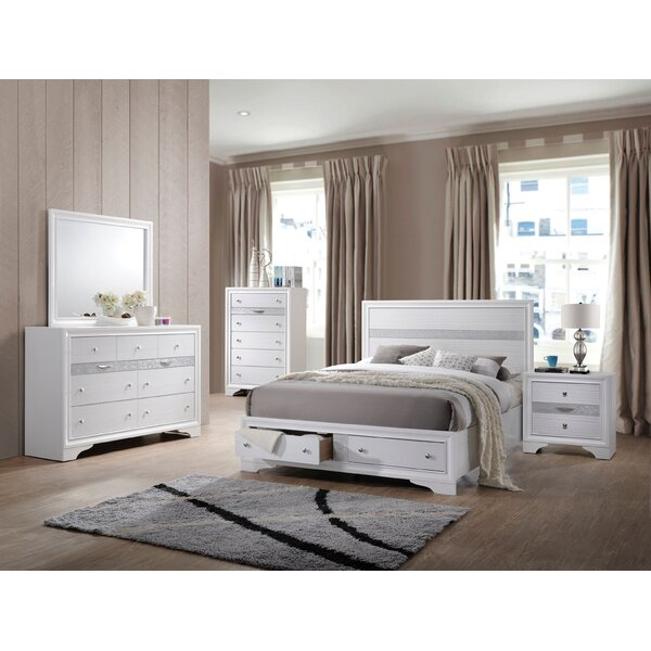 Cecelia Storage Platform Configurable Bedroom Set by Rosdorf Park