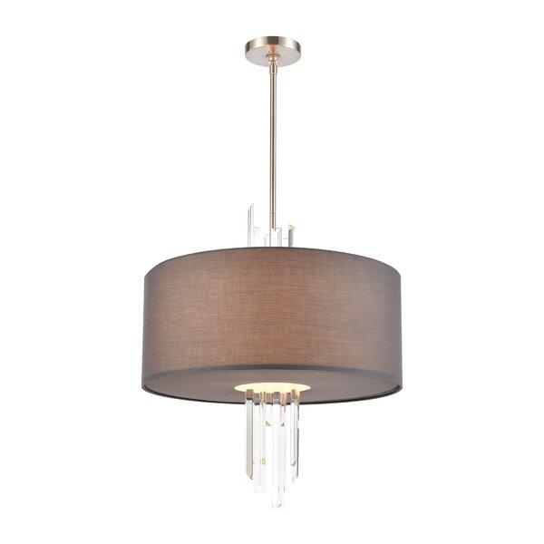 Longwood 3 - Light Unique Geometric Chandelier By House Of Hampton