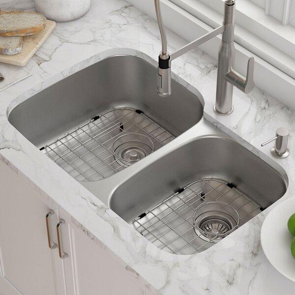Outlast MicroShield™ 19 L x 19 W Undermount Kitchen Sink
